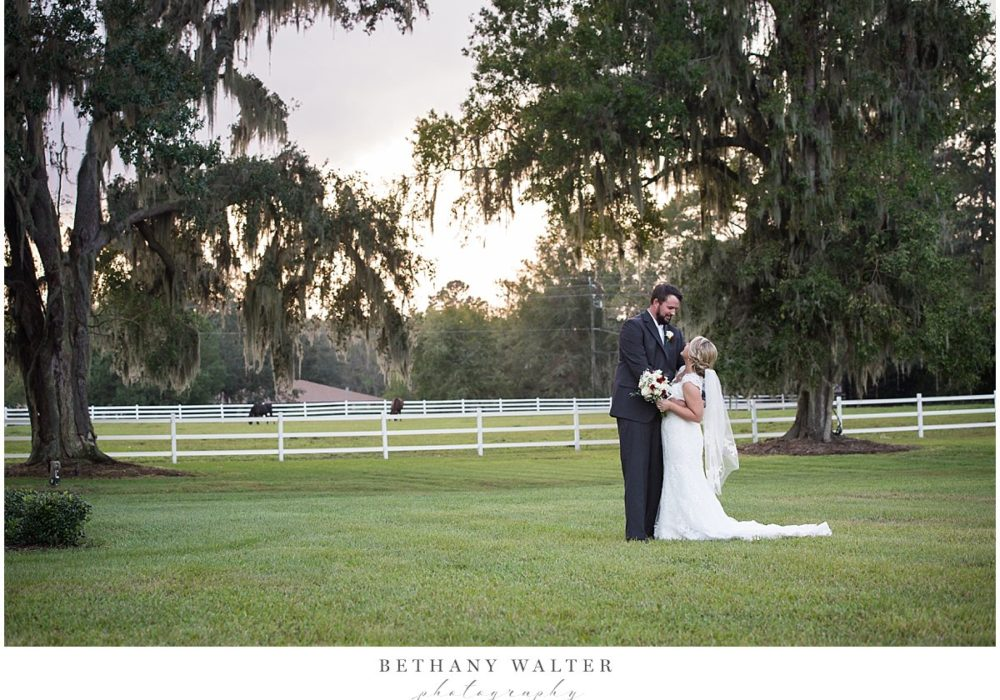 St Augustine Wedding Photographer at Plantation Oaks